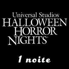 1 noite Halloween Horror Nights - Universal Hollywood
